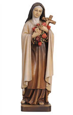 Saint Theresa of Lisieux statue wood carving