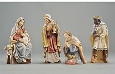 The adoration statue wood carving, for Nativity set mod. 912