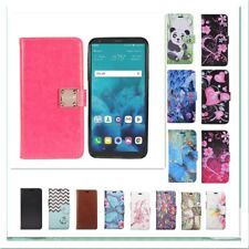 For  LG Stylo 4/Stylus 4 PU Leather Slot Wallet Flip Pouch Stand Case Skin Cover