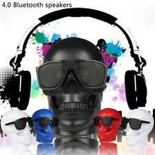 BEST Loud Portable Skull Wireless Bluetooth Super Bass Stereo Speaker for iPhone