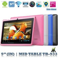 32C6153 9'' A33 Quad Core Dual Camera Android 4.4 WIFI HD 1G + 16G Tablet PC EU