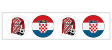 Stickers - Football - World Cup 2018 - Party Bag Fillers - Team Croatia