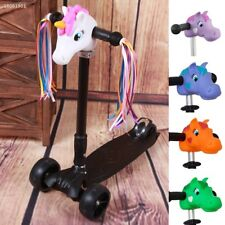 7CB1D06 Lovely Dragon Pony Shaped T-Bar Head Cover For Skateboard Scooter Bikes