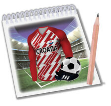 Notepads - Party Bag Fillers - Football - World Cup 2018 - Team Croatia