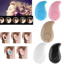 Mini Wireless Bluetooth 4.0 Stereo In-Ear Headset Earphone For Samsung iphon PDQ