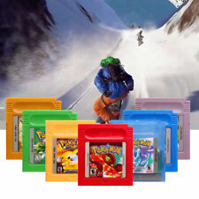 7 Colours GIOCO DI CARTE carrelli per Nintendo Pokemon GBC GAME BOY COLORE