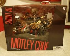 McFarlane Motley Crue Shout At The Devil Deluxe Box Set New Unopened