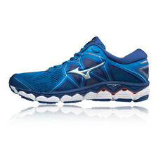Mizuno Mens Wave Sky 2 Running Shoes Trainers Sneakers Blue Navy Sports