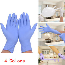 NEW 50Pairs Rubber Disposable Gloves Powder Latex Free Grease Proofing Medical