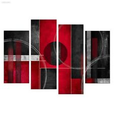 EDDB9DE 4Pcs Modern Abstract Oil Painting Canvas Modern Art Decoration Colorful