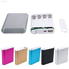 1D5AD43 Portable Universal USB Power Bank Battery Charger Box DIY For 4x 18650