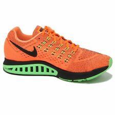 Mens NIKE AIR ZOOM STRUCTURE 18 Orange Running Trainers 683731 803 UK 7.5 EUR 42