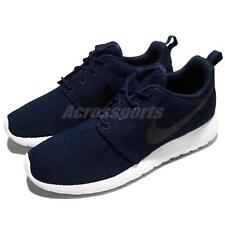 Nike Roshe One Rosherun Navy Black White Men Running Shoes Sneakers 511881-405