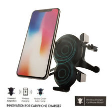 WIRELESS CHARGER CAR PHONE MOUNT AIR VENT BRACKET SUPPORTO PORTA CELLULARE