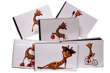 "Mini Memories COOL GIRAFFE Album -  6""x 4""s - Choice of Design Covers"