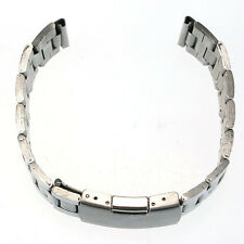 18mm/20mm/22mm Stainless Steel Watch Band Strap Straight End Bracelet Links New