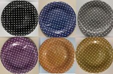 Polka Dot Pack Of 20 Disposable Side Paper Plates Birthday - Party Tableware