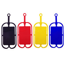 Mobile Phone Silicone Lanyards Neck Hand Strap Necklace Sling Card Holder Case