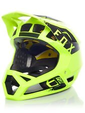 Fox Yellow-Black 2018 Proframe Mink MTB Full Face Helmet