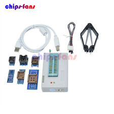 TL866II Plus Programmer USB EPROM FLASH Adapters Socket Extractor For 13000 IC
