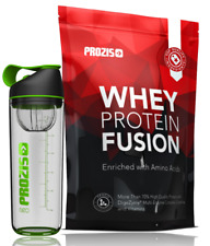 Whey Protein Fusion 900g Complesso 3Whey Fusion e Neo Mixer Bottle Electric Lime