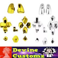 Xbox One Controller 3.5mm Jack Chrome part button set dpad trigger gold silver