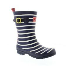 Joules Molly Welly - French Navy Stripe (Rubber) Womens Wellies