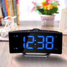 Projection Alarm Clock Affordable Desk Large Electronic Digital Table Function