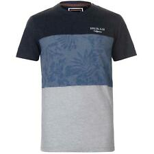 PR 119493   SOUL CAL T-SHIRT UOMO MANICA CORTA NAVY/FLORAL