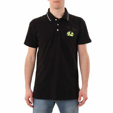 PR 115456   JUST CAVALLI POLO UOMO BLACK