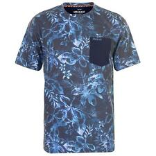 PR 116529   SOUL CAL T-SHIRT UOMO MANICA CORTA NAVY FLORAL