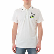 PR 115455   JUST CAVALLI POLO UOMO WHITE