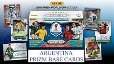 Adrenalyn XL FIFA WORLD CUP RUSSIA 2018 ARGENTINA PRIZM Base Cards Panini