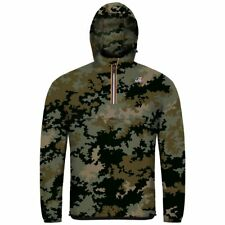 K-Way LE VRAI 3.0 LEON GRAPHIC GIACCA UOMO UNISEX KWAY Camouflage Scuro 900dkggq
