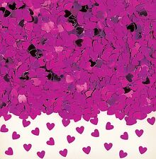 Sparkle Hearts Pink Heart Wedding Table Confetti Foiletti Decoration 14-84g