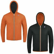 K-WAY JACQUES PLUS DOUBLE FLUO giacca reverse CORTA BAMBINO Variable Meteo 904ls