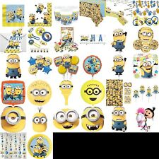Despicable Me Birthday Party Decorations, Table Wear Children BBQ Summer