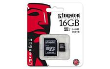 New Original Genuine Kingston Micro SD SDHC Flash Memory Card Class 10 +Adapter