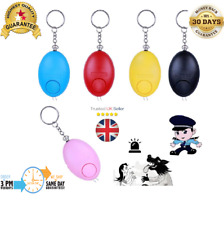 New Approved Keyring Personal Panic Rape Attack Safety Security Alarm 140db