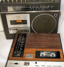 For repair - VINTAGE RADIO CASSETTE PLAYERS - click SELECT to browse & order