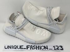 ADIDAS NMD HUMAN RACE X PHARRELL HU PW 6 7 8 9 10 TRAIL HOLI BLANK CANVAS WHITE