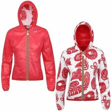 K-WAY LILY PLUS DOUBLE GRAPHIC giacca reverse KWAY DONNA meteo NUOVO 918lczprk