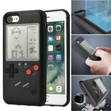 Retro Real Game Console Play Gameboy Tetris Phone Case for iPhone X 6 7 8 Plus