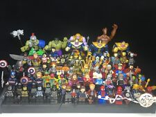 Marvel Avengers 4 Spider Man Thanos collection Custom Fit Lego Mini figure toy