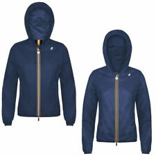 K-Way LILY CRINKLE DOUBLE LASERED giacca reverse KWAY DONNA Variable Meteo Q09he