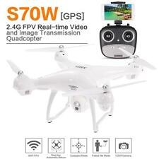 S70W 2.4GHz GPS FPV Wifi Drone RC Quadcopter with 1080P Camera Follow Me Mode