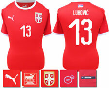 LUKOVIC 13 - 2018 / 19 SERBIA HOME WORLD CUP PUMA SHIRT SS = ADULTS