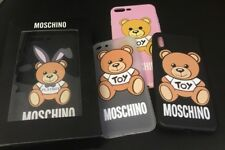 UK Seller Moschino Bear Case iPhone X 5 5s SE 7 7Plus 6 6s 6Plus 6sPlus -- Boxed