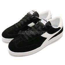 Diadora Field Black White Men Tennis Classic Casual Shoes Sneaker DA172354-80013