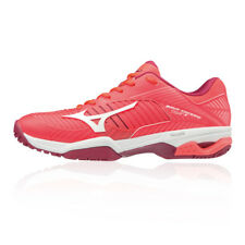 Mizuno Womens Wave Exceed Tour 3 All Court Tennis Shoes Pink Sports Breathable